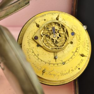 Antique Pocket Watch John Ward, London