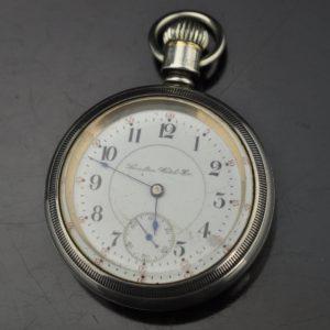 Antique pocket watch - Hamilton