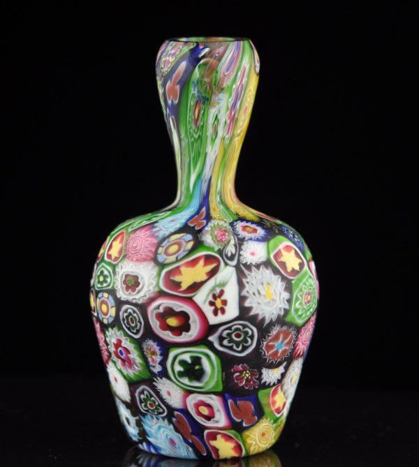 Antique Murano glass vase, Italy 1910y