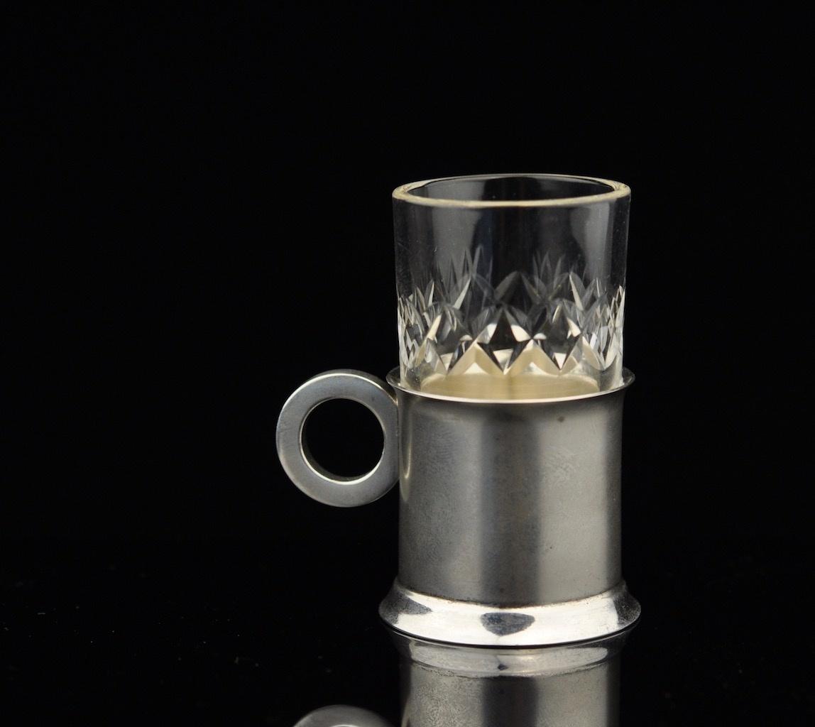 cb307cf1db4 Antiikne viinspits, kristall, hõbe 875 MÜÜDUD - Idla Antiik