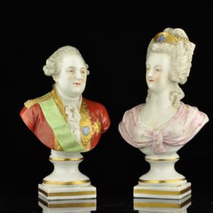 Antique porcelain Nymphenburg figures, XIX