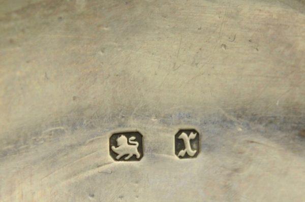 Antiiksed küünlajalad, Inglise hõbe