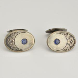 Antique cufflinks, 84 silver - G.Klingert