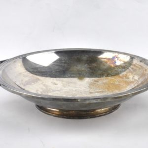 Art Deco metal bowl