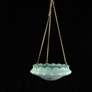 Art Deco Ceramic Flower Basket