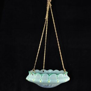 Art Deco Ceramic Flower Basket