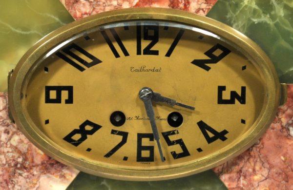 Art Deco style clock