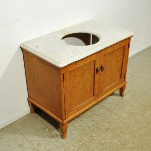 Art Deco-style washing chest