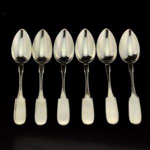 Antique spoons, silver 875, Joseph Rubin