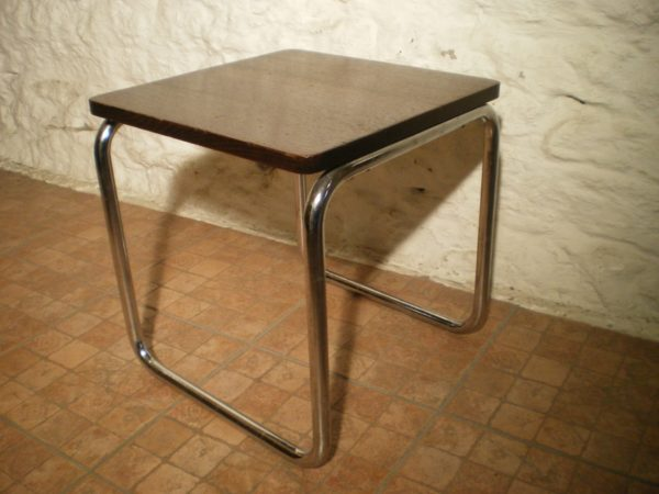 Antiikne bauhaus stiilis laud ja tool 1930a