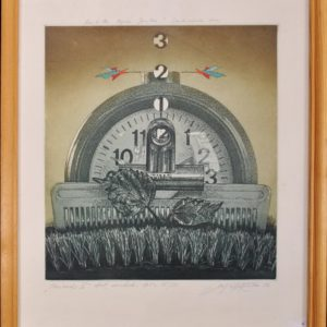 Benjamin Vasserman Period II 1991y, etching, aquatint