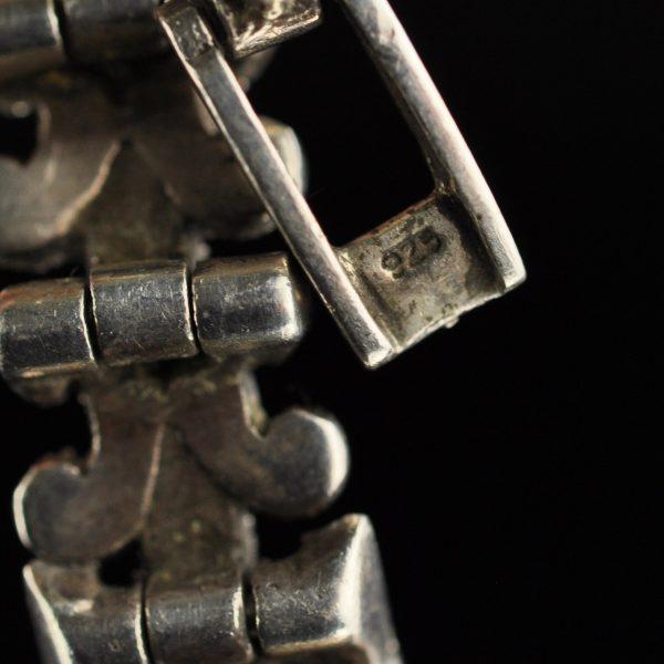 Käekell Quartz, hõbe 925, markatsiidid