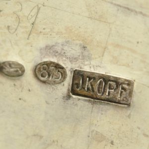 EW rough silver barrel and Sugar coat J.Kopf 875 samples