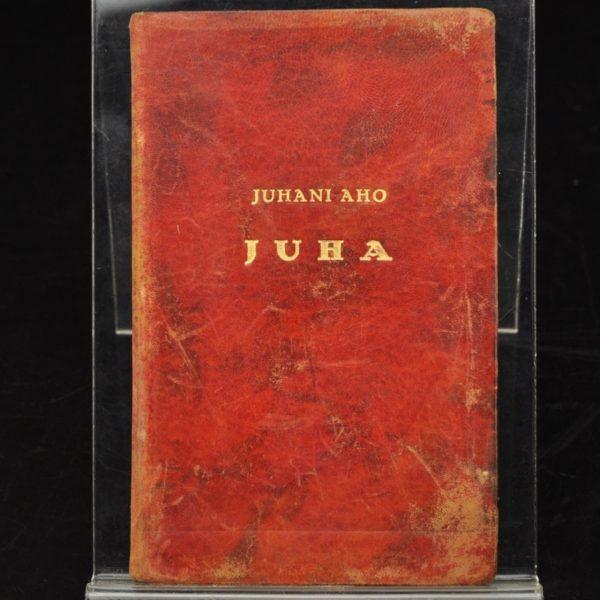 """EW aegne raamat Juhani Aho """"Juha"""" 1925"""