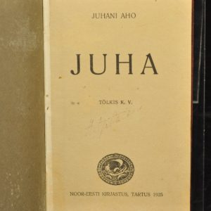 "The Book of EW by Juhani Aho ""Juha"" 1925"