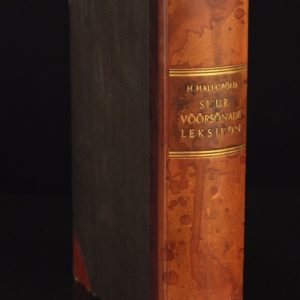 "EW's book ""The Great Lexicon of Foreign Languages"" in 1937y SOLD"
