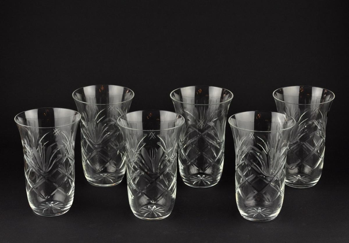 27a776764d0 EW kristall limonaadiklaasid - 6tk MÜÜDUD - Idla Antiik