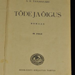 Estonian book 1929