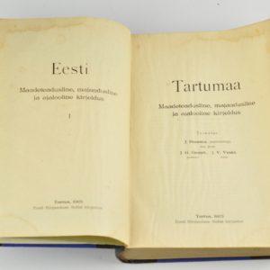 EW raamat - Tartumaa