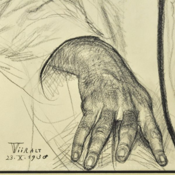 "Eduard Wiiralt (1898-1954) ""Oopiumi uimas"" 15292 Lp.15-1"