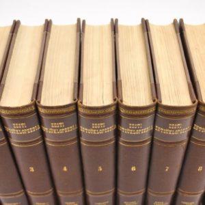 Eesti Entsüklopeedia 8+1, 1932-1937a ja 1940a