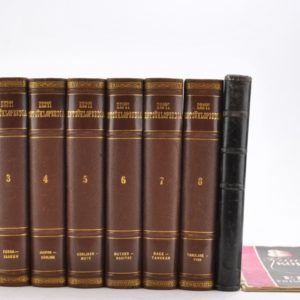 Estonian Encyclopaedia 8 + 1.1932 to 1937 A and 1940