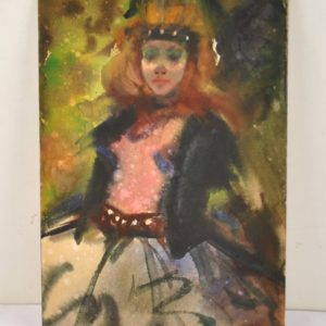 "Enno Lehis Baleriin""akvarell 1967a"""