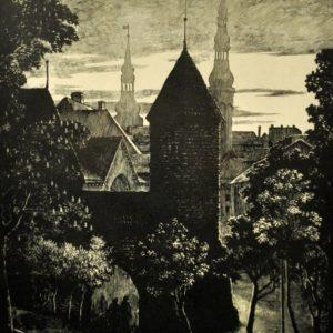 """Ernst Kollom """"Vana Tallinn """"1"""