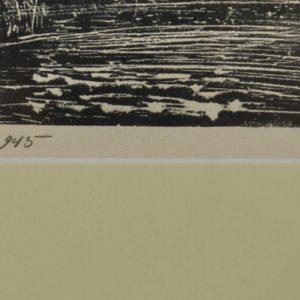 """Ernst Tiido(1913-1957) Vagula motiiv""""linool 1945a MÜÜDUD"""""""