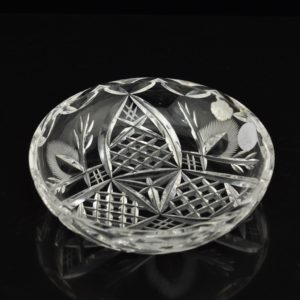 "An Antique crystal bowl ""Aare"" SOLD"