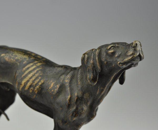 Ferdinand Pautrot 1865 - pronks koera kuju