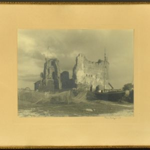 Photo Toolse castle by Carl Sarap 1937