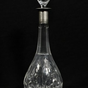 Carafe with silver edge