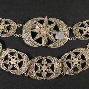 Antiikne Tsaari-Vene hõbevöö,84 hõbe