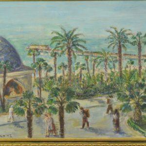 """Henn Sarap (1909-1972) õlimaal Palmid"""""""""""