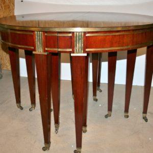Jakobe stiilis laud ja 12 tooli UUSANTIIK