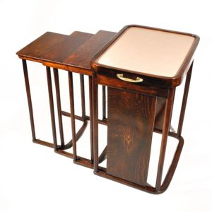 Josef Hoffmann (1870-1956) nest of tables