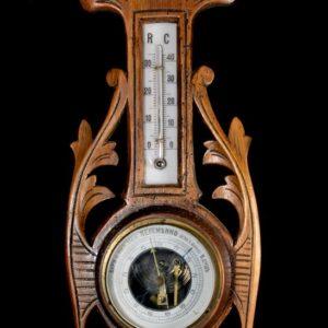 Art Nouveau barometer