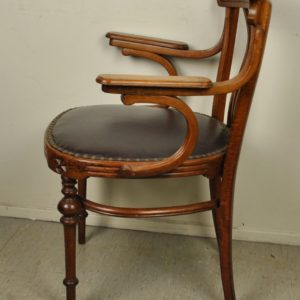Art Nouveau desk chair