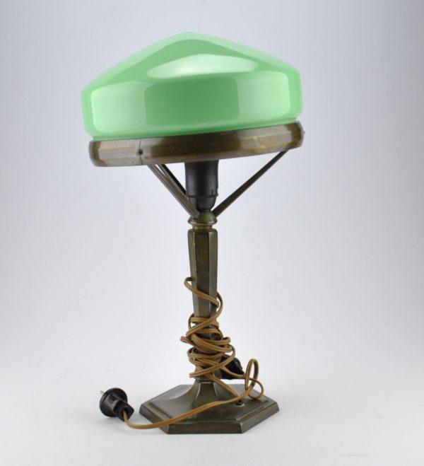 Juugend laualamp rohelise kupliga