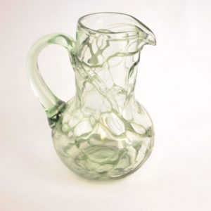 Art Nouveau glass jug