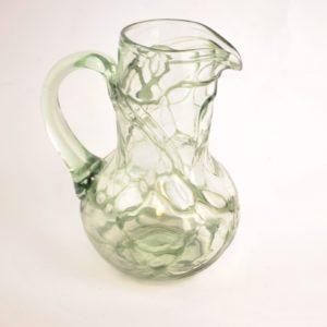 Juugendstiilis klaasist kann