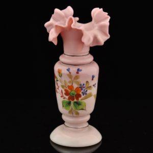 Juugendstiilis klaasist roosa vaas MÜÜDUD