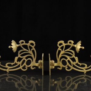 Art nouveau piano candlesticks SOLD