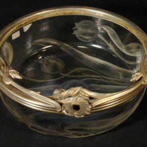 Art Nouveau bowl.