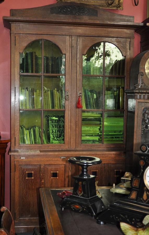 Art Nouveau bookcase