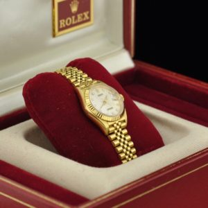 "Wristwatch ""ROLEX"" 18 ct gold"