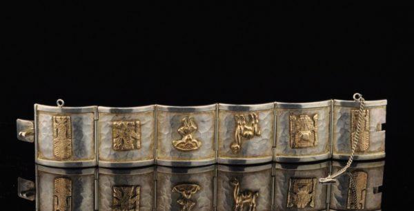 Käevõru - 925 hõbe, 13 k kuld