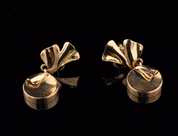 Kõrvarõngad 585 kuld, T.Aru