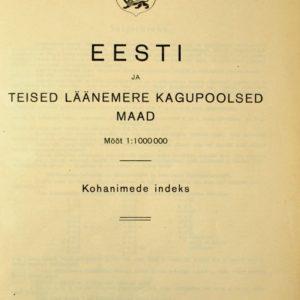 Eesti ja teised Läänemere kagupoolsed maad 9680 len:11545